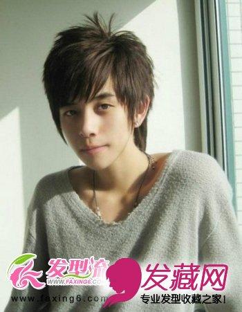 韩式男生长发发型图片秀(3)图片