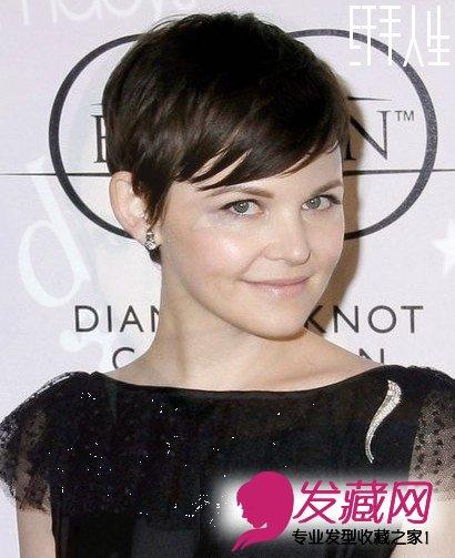 女明星短发发型 精灵感抢镜图片
