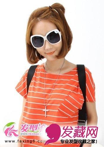 女生短发发型设计 夏日流行发型图片