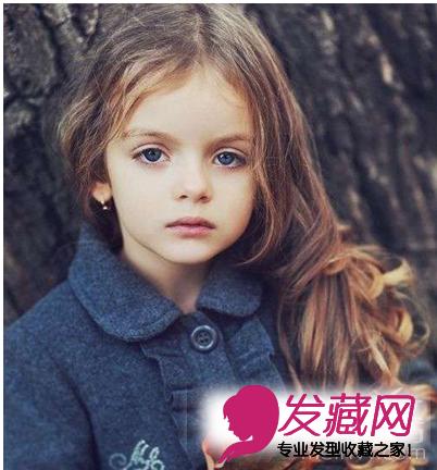 5款小女孩发型扎法设计图 可爱甜美(5)