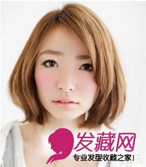 2015圆脸发型设计 圆脸适合什么短发型?