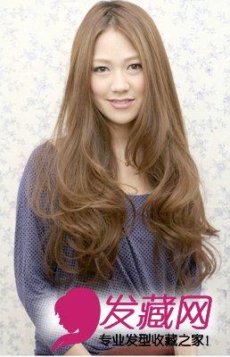 教你如何打造美丽的自己(2)  导读:长发中分 梨花头 最新流行 发型