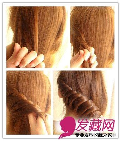 4款女神级编发教程图解 →最新爆红编发发型图片 如何梳一款好看的发