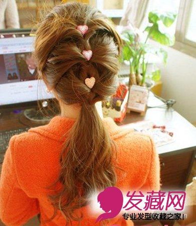 发型扎法步骤四图片