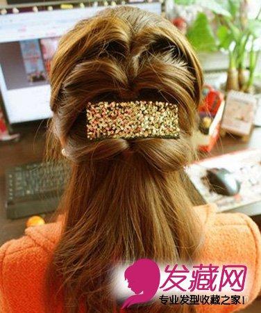 【图】韩式编发diy 美女发型4个编发步骤(6)