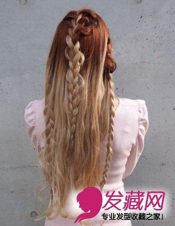 蝴蝶结桃心蝎子辫萌系pk(6)