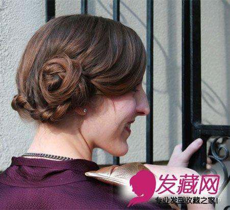 > diy夏日清新编发 详细步骤图演示(9)  导读:侧面看起来非常可爱
