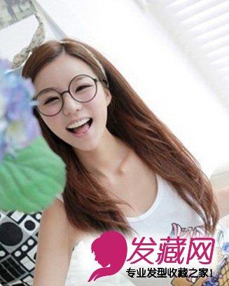 8款好看的女生直发发型 恬静优雅(3)图片