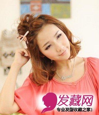 夏季10款火热韩式发型 清凉扎发最俏皮