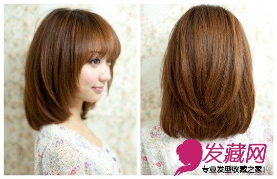 头发多,脖子较短的女生适合什么样的发型?
