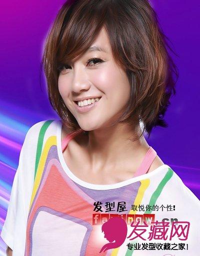 美女主播朱丹短发发型图片大盘点(7)图片