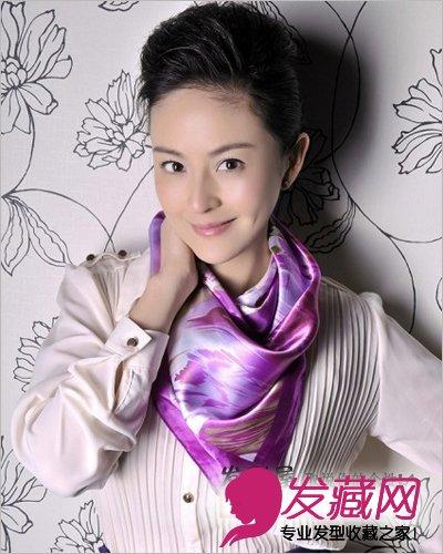 盘发写真 显高贵淑女范      近日,戴娇倩为某杂志拍摄封面,解析上海图片