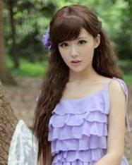 夏日超有feel女生长发发型 时尚靓丽