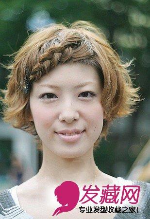 发型网 流行发型 短发发型 > 短发女生造型也百变 一周发型建议(3)