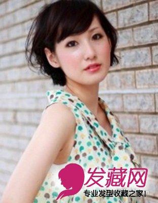 2015最流行日系短发发型 时尚百搭(6)