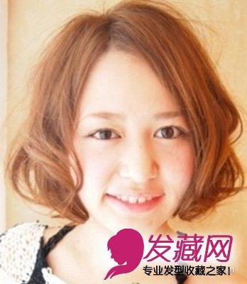 2015最流行日系短发发型 时尚百搭(8)