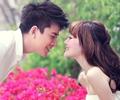贾乃亮李小璐7月6日大婚 李小璐甜美发型拍婚纱照