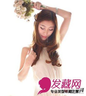 2015女生可爱发型推荐 →90后女生韩式发型设计 清纯可爱学院风