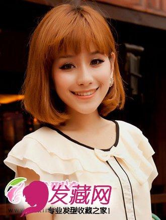 时尚甜美短发发型设计 彰显气质魅力(5)