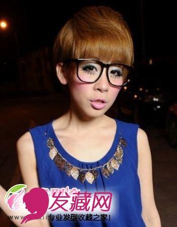 最流行的短发发型蘑菇头 女生短发发型设计 ,尽显俏皮可爱的女生形象