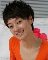 文章为马伊俐晒裸照 马伊俐短发发型秀图片