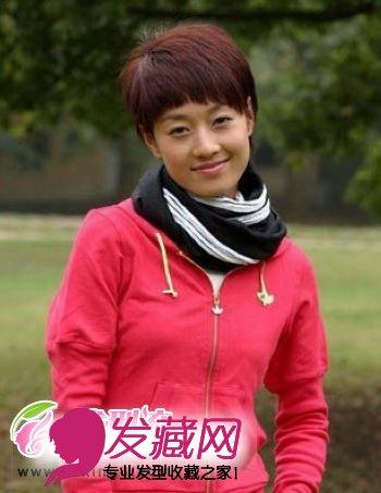 文章为马伊俐晒裸照 马伊俐短发发型秀(5)图片