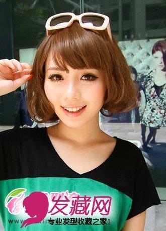 百变时尚短发发型 展现女人个性气质(5)