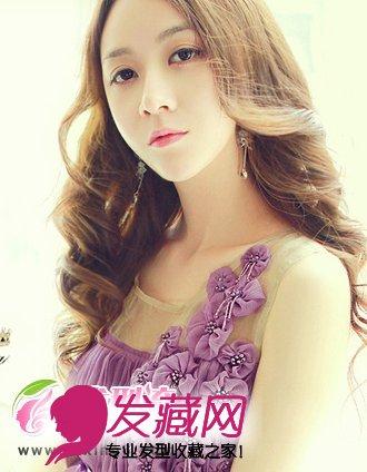 提升魅力气质(7)  导读:中分刘海发型 中分刘海的发型设计,更显女性的图片