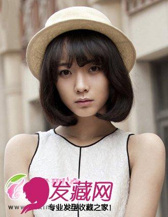波波头发型 最甜美可爱的女生发型(4)