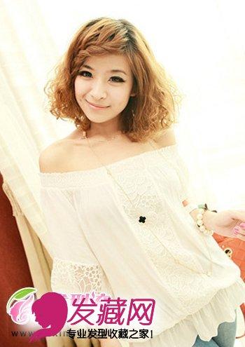 蓬松烫发发型设计夏季最流行(3)