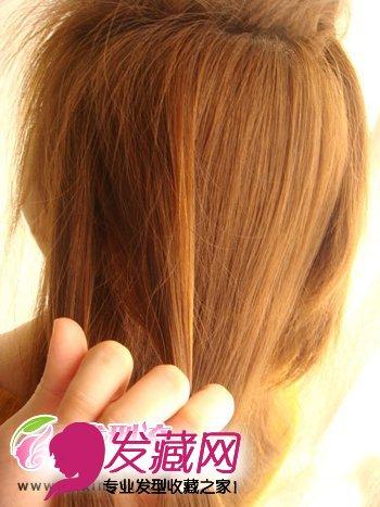 韩式发型扎法步骤 夏日清凉时尚编发(4)