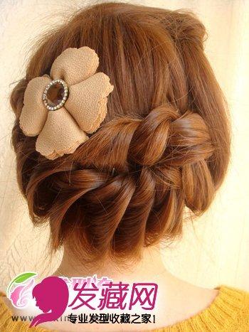 【图】韩式发型扎法步骤