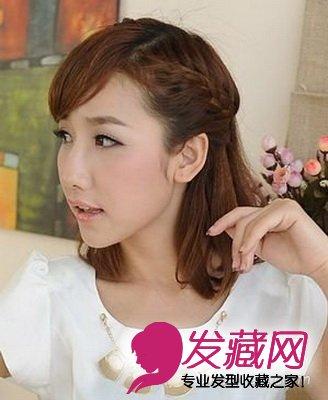 最新韩式发型扎法 极具清纯甜美气质(10)