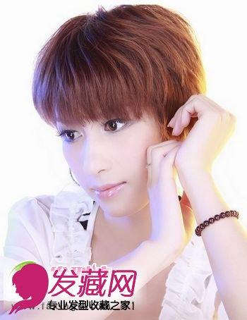 清新迷人的女生短发发型(6)图片