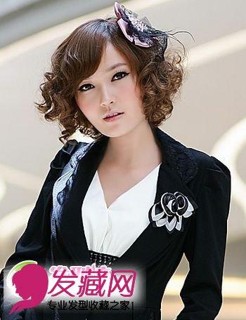 时尚女生短发发型 打造短发美女(4)图片
