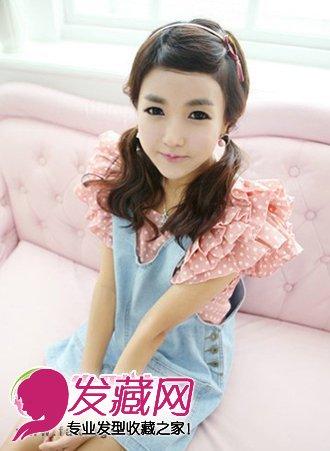 韩国可爱非主流发型设计 俏丽又迷人(2)图片