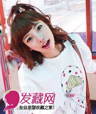 【图】韩式可爱女生非主流发型图片(2)