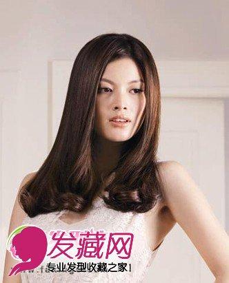 中长发发型 清爽女生发型(6)图片