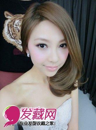 【图】中长发发型 清爽女生发型(3)图片
