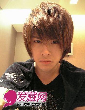 帅气男长发型 男生发型图片(7)图片