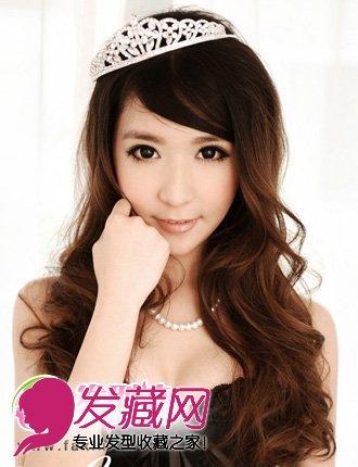 斜刘海发型设计