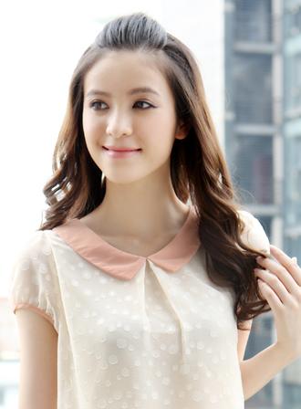 时尚卷发发型图片  提升人气指数发型