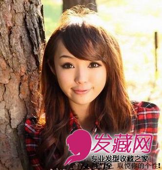 最新圓臉女生發型 圓臉女生發型設計(6)