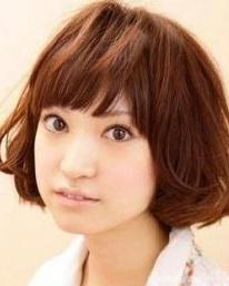 日系时髦刘海 瘦脸超有效