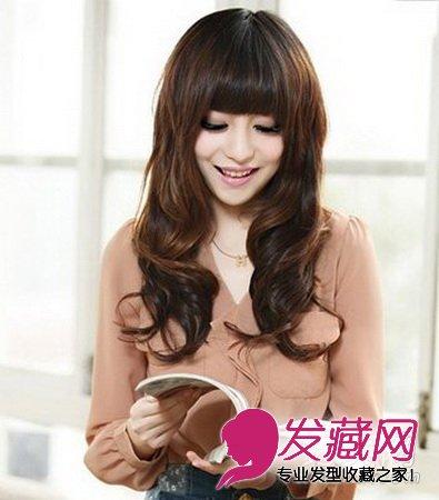 发型网 发型图片 卷发发型图片 > 8款最新卷发发型 女性优雅浪漫尽显图片
