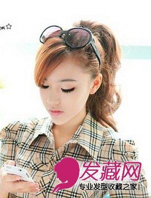 清新甜美可爱 2015流行刘海发型集锦(8)