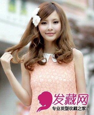 【图】9款斜刘海发型设计