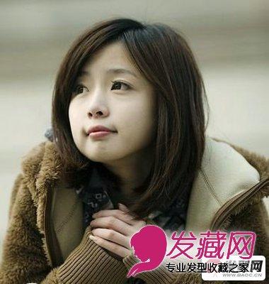 圆脸发型设计 教你完美脸型发型搭配技巧(4)