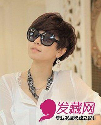短发发型 > 夏季必备短发发型 清爽可爱(2)  导读:时尚洋气短发 发尾
