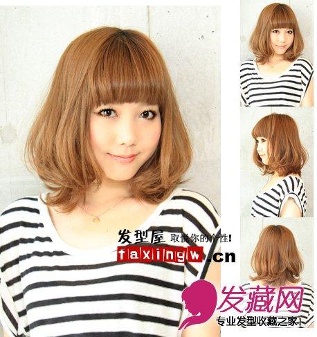 圆脸女生适合什么发型 圆脸女生适合时髦短发发型分享